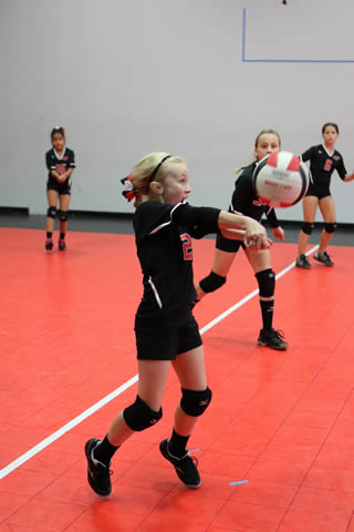 Middle School Volleyball Training